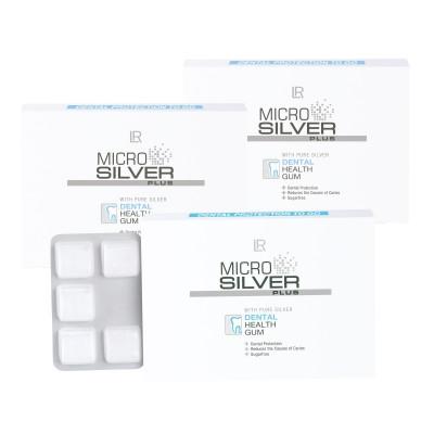 Microsilver Plus Žvýkačky 3 balení