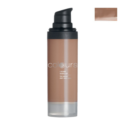 Colours Krémový make-up (Dark Caramel)