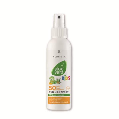 Aloe Vera Kids Sun SPF 50 Opalovací mléko ve spreji